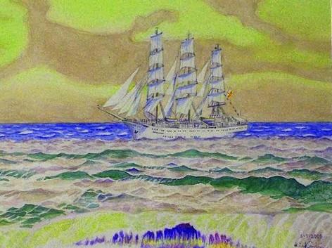 Święta na morzu