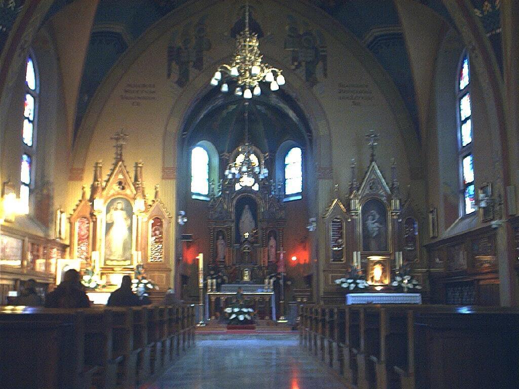 Sanktuarium Bożego Miłosierdzia w Łagiewnikach zdjęcia Jadwigi Naparzewskiej