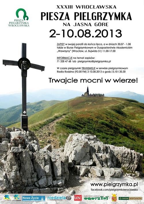 XXXIII Piesza Pielgrzymka Wrocławska