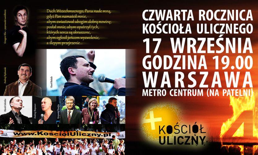 IV Rocznica Powstania Kościoła Ulicznego