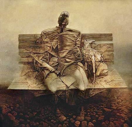 Medytacje szarodzienne o Częstochowie i Beksińskim