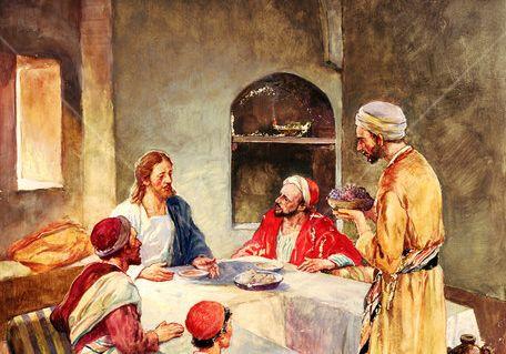 Do grzesznika poszedł w gościnę