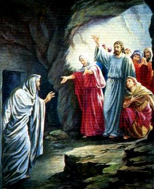 Czy Łazarz chciał wyjść z grobu?